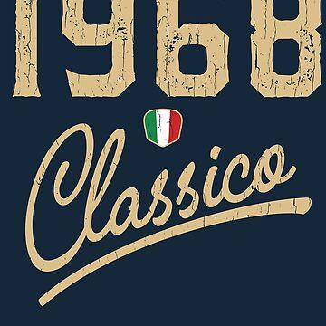1968 Classico - Italian Flag 50th Birthday Design by dk80