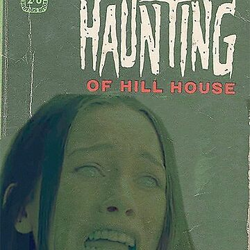The Haunting of Hill House Vintage Book Cover by RobinBegins