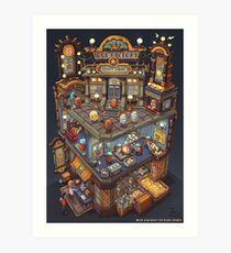 The Idol Factory Potato Chips Art Print