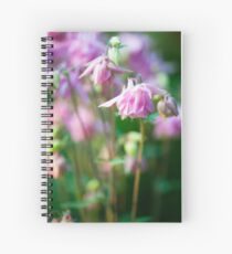 Angelic Aquilegia Spiral Notebook
