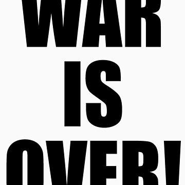 WAR IS OVER! by watertigerleo