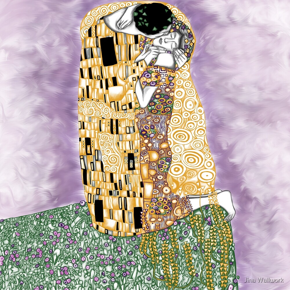 The Kiss by Jina Wallwork