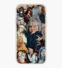 billie eilish collage iPhone Case
