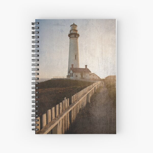 Pigeon Point Lighthouse Spiral Notebook