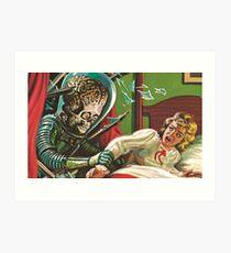Mars Attacks! 5 Art Print