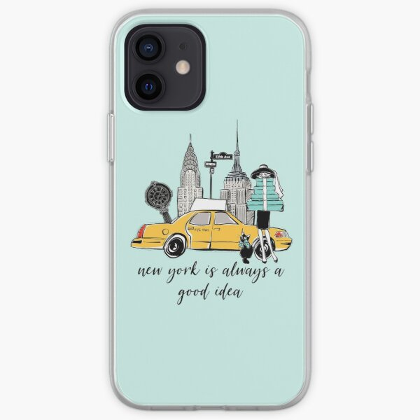 New York Girl iPhone Soft Case