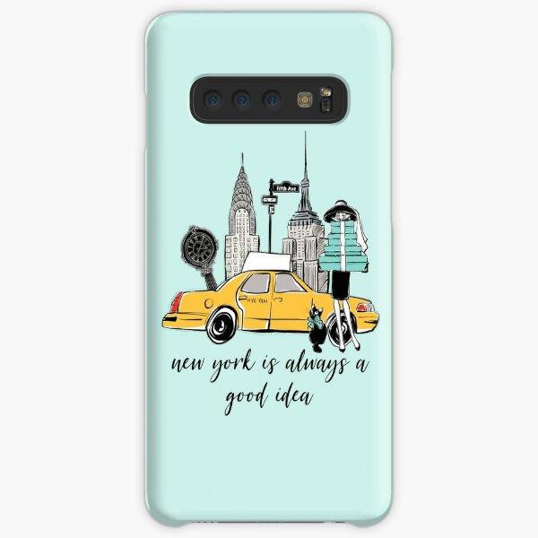 New York Girl Samsung Galaxy Leichte Hülle