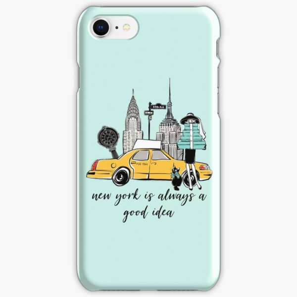 New York Girl iPhone Snap Case