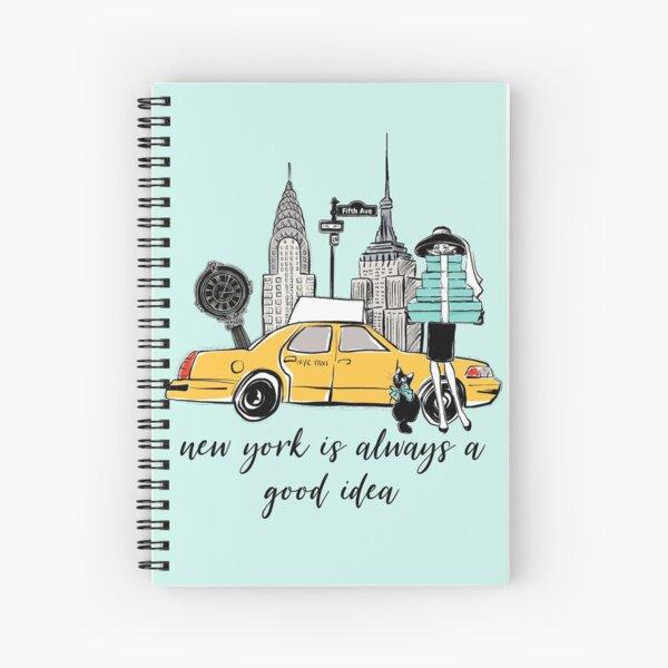 New York Girl Spiral Notebook
