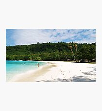 somewhere in paradise Photographic Print