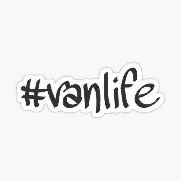 Hashtag Vanlife (Casual) Sticker