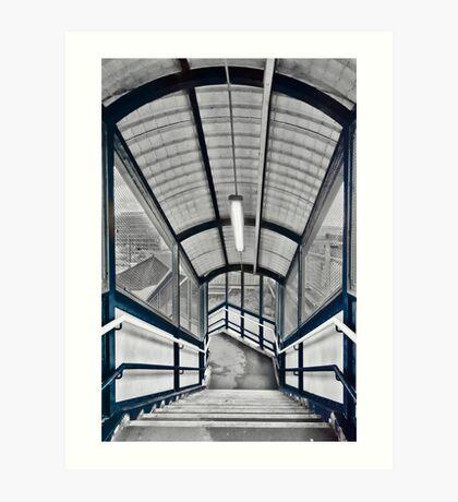 Stonebridge Park Tube Station Art Print