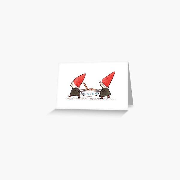 Rice Pudding Greeting Card