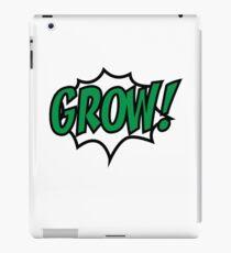 Grow! iPad-Hülle & Klebefolie