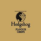 Hedgehog Flavour Crisps by unloveablesteve