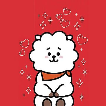 BT21 Phone Case - RJ by ZeroKara