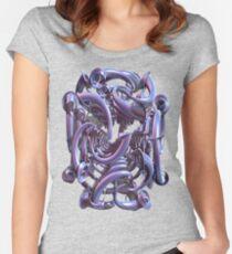 Teezers 025 Women's Fitted Scoop T-Shirt