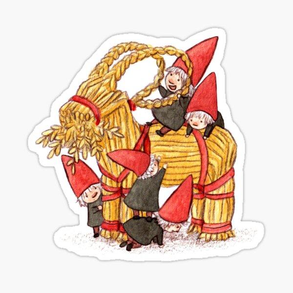 The yule goat Sticker