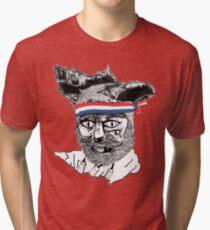 Crack Fox Tri-blend T-Shirt