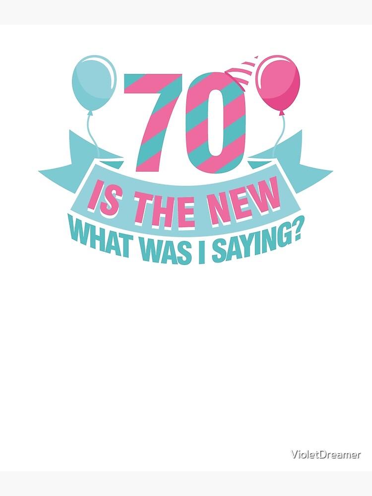 70 cumpleaños engranaje de VioletDreamer