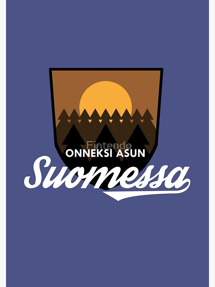Onneksi asun Suomessa by Fintendo