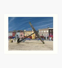 Bantry Town County Cork, Ireland Art Print