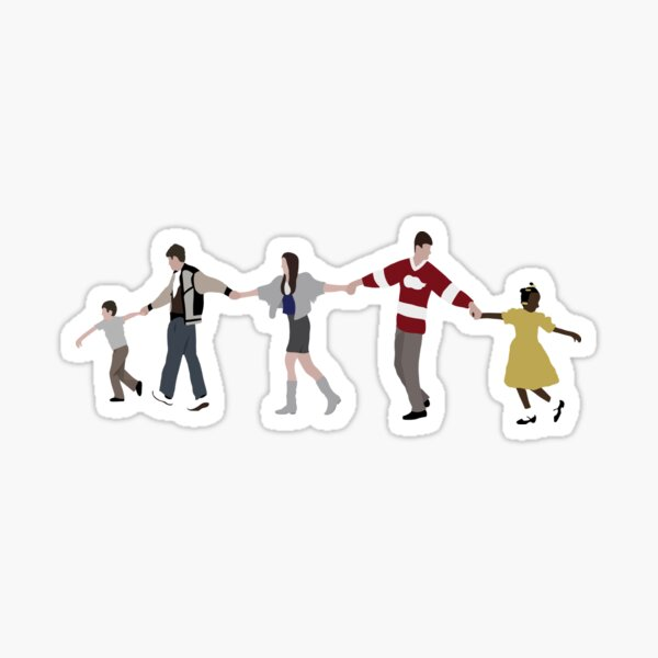 Ferris Bueller Chain Sticker