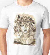 Head Of Meduse - 1630, Gian Lorenzo Bernini T-Shirt