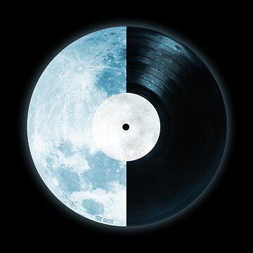 Full Moon ~ Vinyl Record by EddieBalevo