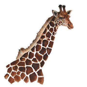 Giraffe portrait by LauraMSS