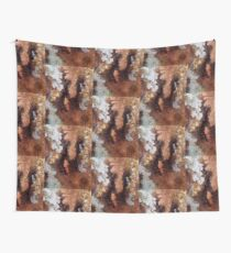 Copper and Silver  Wall Tapestry