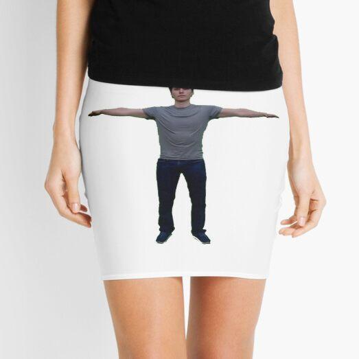 T-Posing Jerma985 Mini Skirt