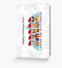 LBA Christmas Cards Greeting Card