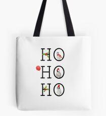 HO HO HO Christmas Penguins Tote Bag