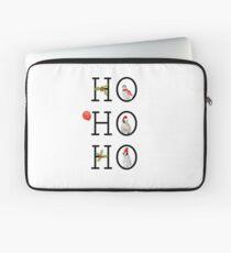 HO HO HO Christmas Penguins Laptop Sleeve