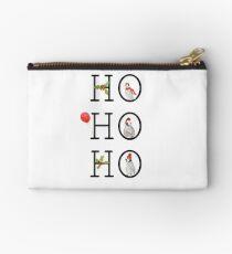 HO HO HO Christmas Penguins Studio Pouch