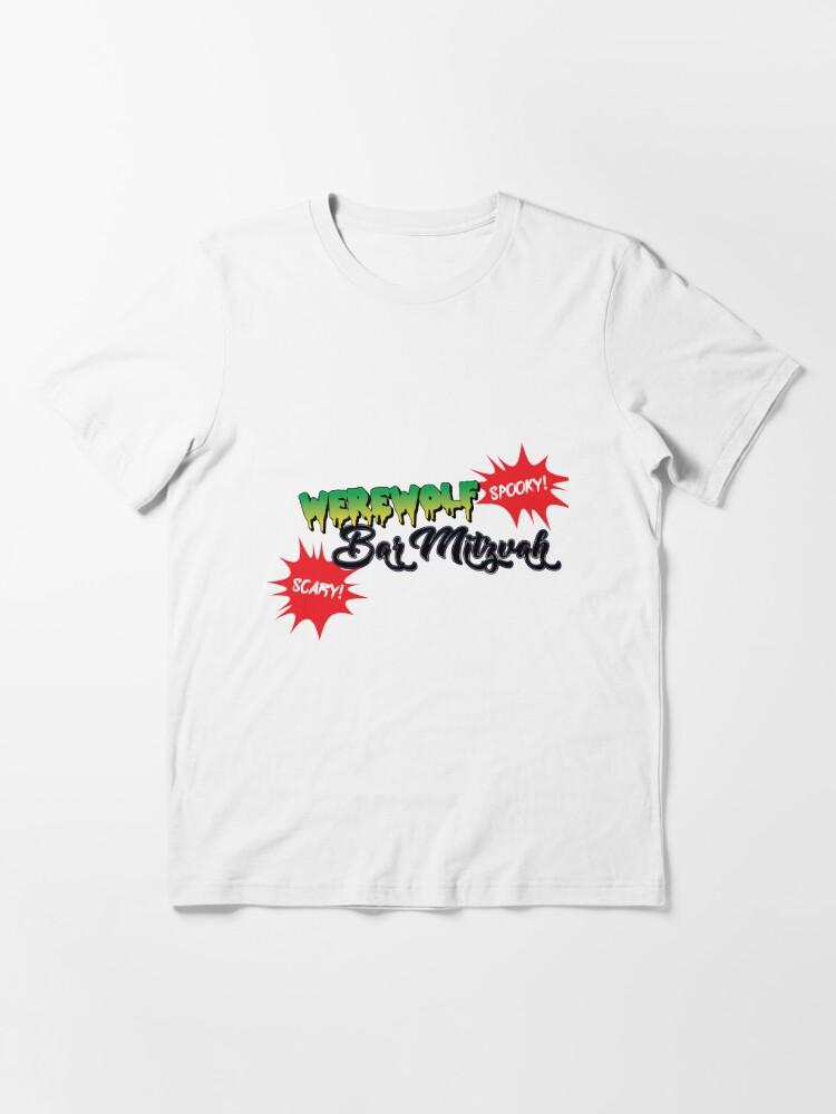 Alternate view of Werewolf Bar Mitzvah! Essential T-Shirt