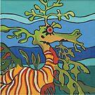 Leafy Sea Dragon by Debby Haskard-Strauss