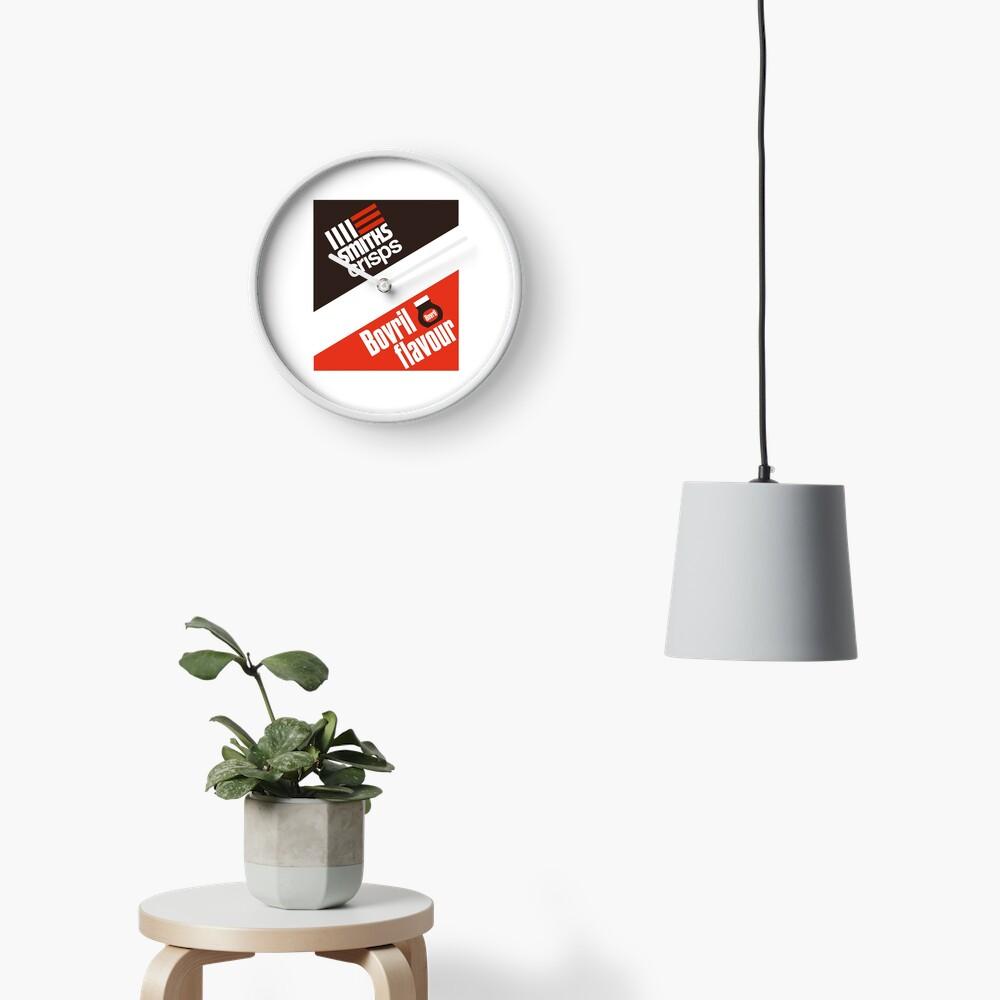 Smiths crisps - Bovril flavour Clock