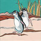 Fairy Penguins by Debby Haskard-Strauss