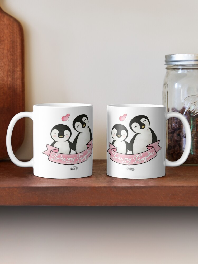 Alternate view of You are my Penguin - When Penguins are in Love Mug