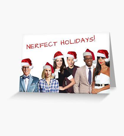 The Good Place Tarjeta de Navidad, Citas, Regalos, Regalos, Buen rollo, Tarjeta de felices fiestas, Paquetes de pegatinas, Taza fresca, Tarjetas de felicitación Meme, Celebridad Tarjeta de felicitación
