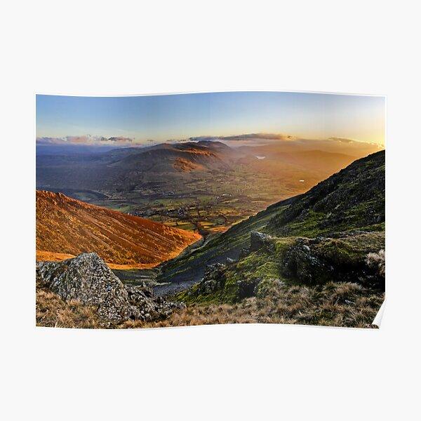 Blencathra Sunset Poster