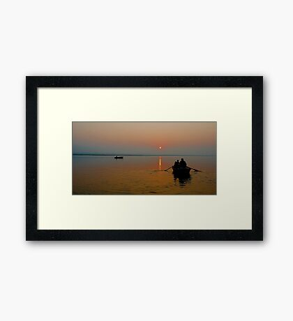 Good Morning Varanasi!!!! Framed Print