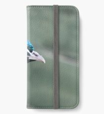 Proud as a Peacock iPhone Wallet/Case/Skin
