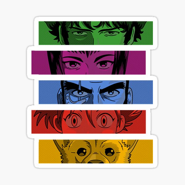 Cowboy bebop Team Sticker