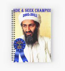 Hide & Seek Champion Spiral Notebook