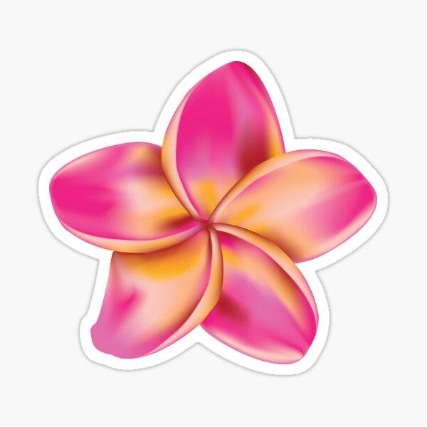 Flower Picture Logo Flowery Flower Petals Sticker Decal Graphic Vinyl Label V6