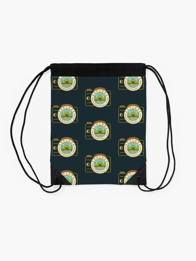 Alternate view of Explore Drawstring Bag
