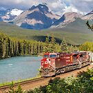 CP 9724 at Morant's Curve by Steve Boyko